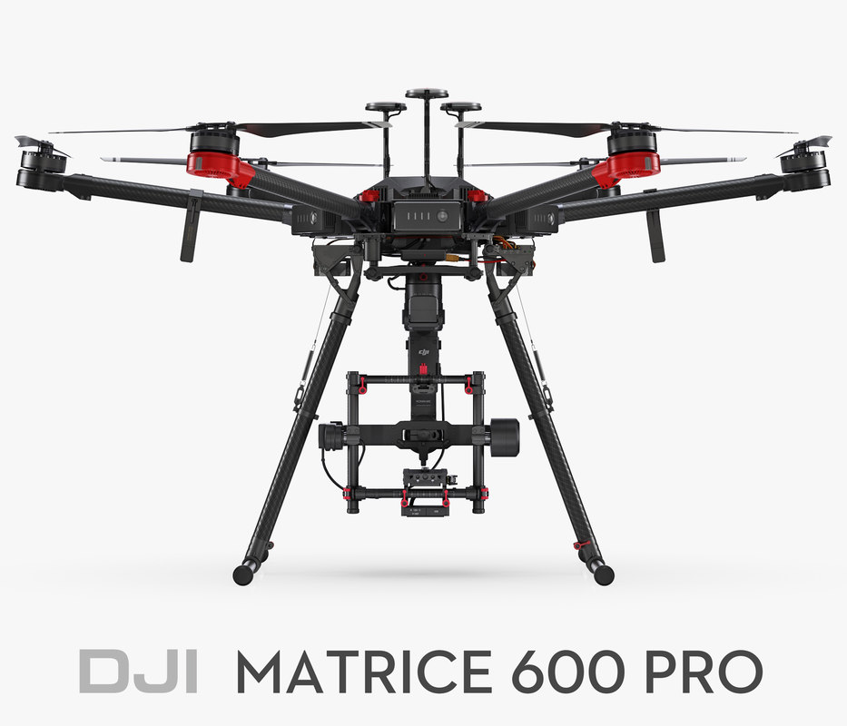Drones that can carry things - DJI Matrice 600 Pro