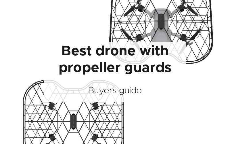 Drone with propeller guards