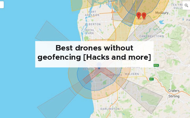 Best drones without geofencing [Hacks, unlocking and more]