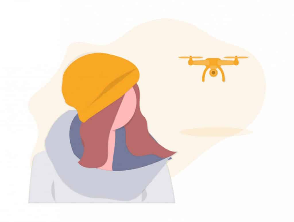 What is the most common cause of drone accidents